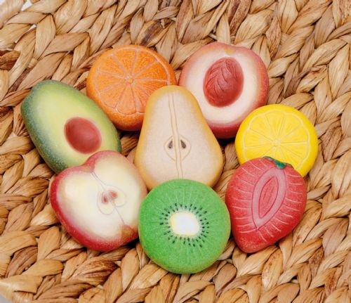 Sensory Play Stones - Fruit